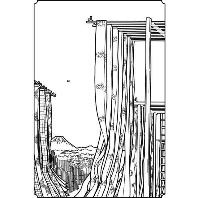 神田紺屋町:黒線バージョン